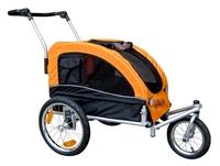 Booyah Medium Dog Stroller and Pet Bike Trailer