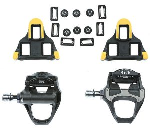 Mountain bike pedal cleats