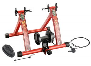 RAD Products Indoor Portable Magnetic Work Out Bicycle Trainer