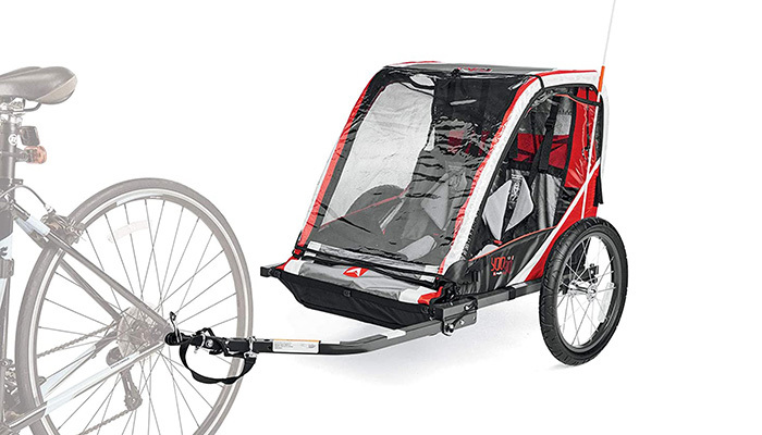 Allen Sports Deluxe 2-Child Bike Trailer Review_FI