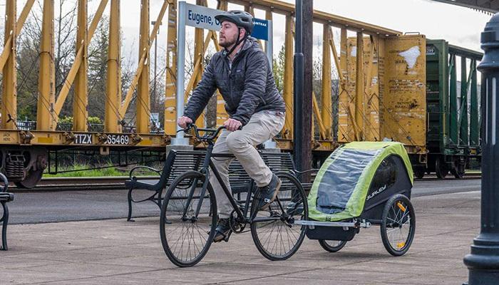 Burley Minnow Bike Trailer Review
