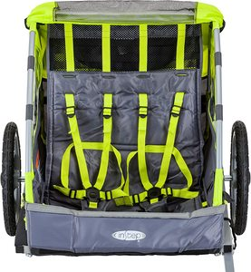 Instep Quick and Easy Bike Trailer Inside
